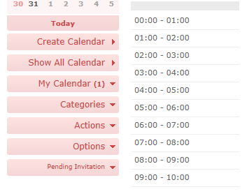 15.	Create and share multiple calendars